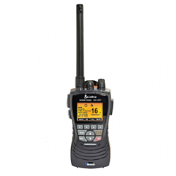 COBRA CLASS D DSC HANDHELD 2 WAY VHF RADIO