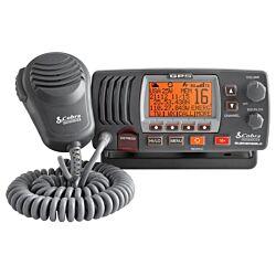 Cobra F77 Fixed VHF Marine Radio with GPS - Grey