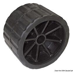 Side Roller, Black 75 mm Ø Hole 18.5 mm (x1)