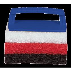 Scrub Pad Kit with Handle