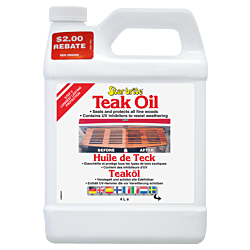 Star brite Teak Oil Gal. 3.8ltr