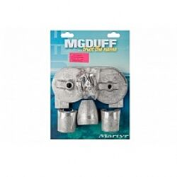 MG Duff Magnesium Anode Kit for Mercury Bravo 3 2004+