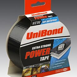 UBond Power Tape Black 50mm x 25m