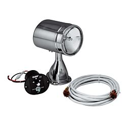 "5"" Stainless Steel Spot/Flood Light with 15' Harness and Remote"