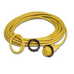 Cordset 16A 230V 50' Yellow