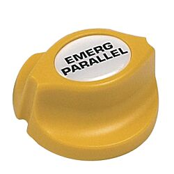 Emergency Parallel Battery Knob, Yellow Easy Fit