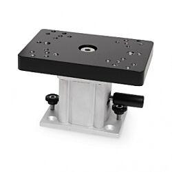"""Aluminum Swivel Base Downrigger Pedestal – 4"""""""