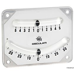 High Precision Double Bubble Inclinometer