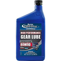 Synthetic Blend 80W90 Lower Unit  Gear Lube