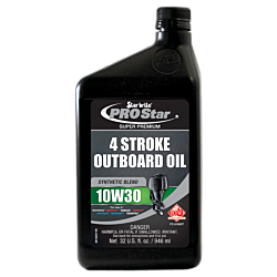 Pro Star Super Premium Synthetic Blend 4 Stroke Oil 10W 30
