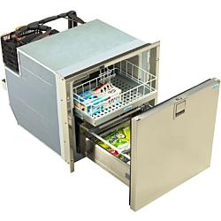 Drawer Freezer 55L 12/24V No Frost Inox Door