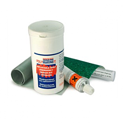Hypalon Inflatable Boat Repair Kit - Orange