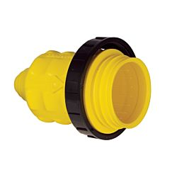 Weatherproof Cover With Threaded Sealing Ring, 20A/30A