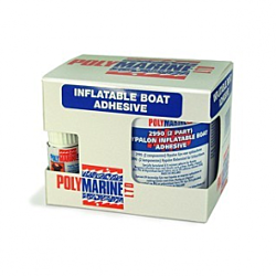 Hypalon (2990) 2 Part Adhesive - 250ml Tin & 10ml cure