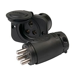 70A 3-Wire Trolling Motor Plug & Receptacle Combo