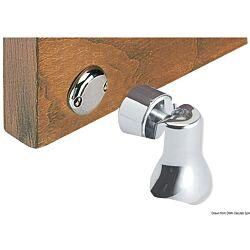 Chromed Brass Magnetic Swivelling Doorstop