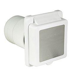Inlet, 50A 125/250V, Square, White