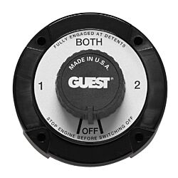 Battery Selector Switch, Universal Mount with AFD
