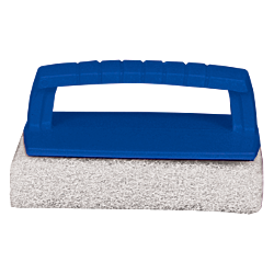 Scrub Pad with Handle – Fine (White)