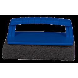 Scrub Pad with Handle – Coarse (Black)