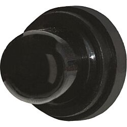 Push Button Reset Only Circuit Breaker Boot - Black