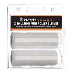 Harris Emulsion Mini Roller Sleeve (2 Pack)