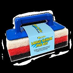 Large Scrub Pad Kit with Handle