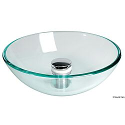 Glass Hemispherical Sink