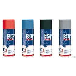 Acrylic Spray Paints for MERCURY Outboard Engines and Stern Drives