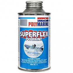 PVC 'Superflex' Flexible Paint - 500ml Tin Grey