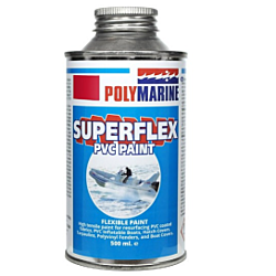 PVC 'Superflex' Flexible Paint - 500ml Tin Red