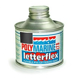 PVC 'Letterflex' - 125ml Black