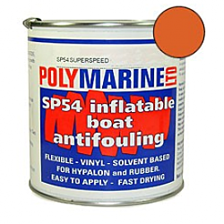 Inflatable Boat Antifouling (SP54) HypalHypalon - 1 Ltr ORANGE