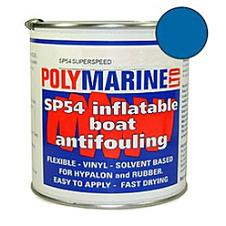 Inflatable Boat Antifouling (SP54)Hypalon - 1 Ltr BLUE