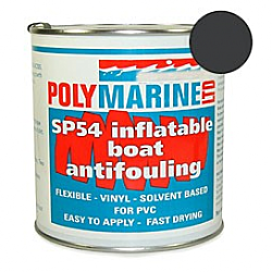 Inflatable Boat Antifouling (SP54) PVC - Black