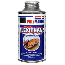 Flexithane Hypalon Paint - 500ml Black