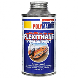 Flexithane Hypalon Paint - 500ml Red