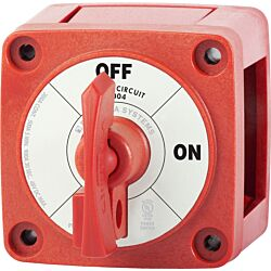 Single Circuit ON-OFF with Locking Key - Red