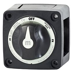 m-Series Selector 3 Position Battery Switch - Black