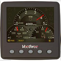 NMEA2000® Universal Engine Gateway / Monitor