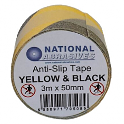 Anti-Slip Tape 50mm x 25m Yellow & Black
