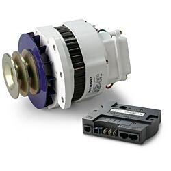 Alpha Alternator 12/90, incl. Alpha Pro III charge regulator