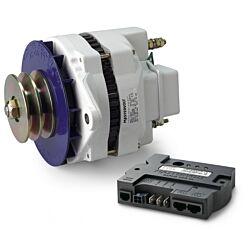 Alpha Alternator 12/130, incl. Alpha Pro III charge regulator