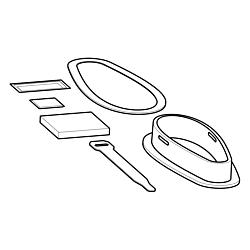 MHX XMK DI – Down Imaging Kayak Transducer Mounting Kit