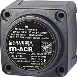m-Series Automatic Charging Relay - 12/24V DC 65A