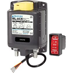ML-ACR Automatic Charging Relay with Manual Control - 24V DC 500A