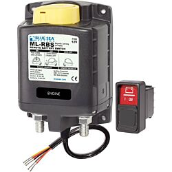 ML-RBS Remote Battery Switch with Manual Control - 12V DC 500A