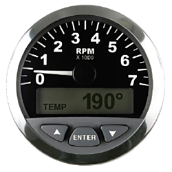 NMEA 2000® Tachometer with LCD, SUZ