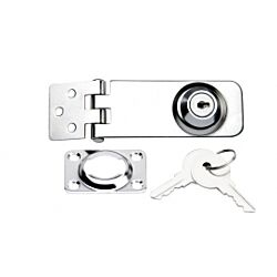 Lockable latch with Key SS316