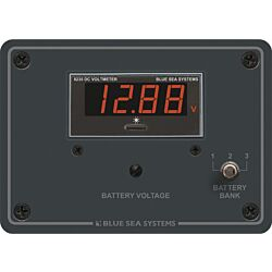 Digital Voltmeter Panel - 7 to 60V DC